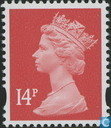 Queen Elizabeth II, Machin Decimal