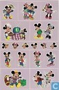 Mickey Mouse ansichtkaart met stickers