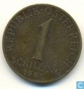 Autriche 1 schilling 1961