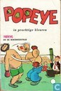 Strips - Popeye - Popeye en de bokswedstrijd
