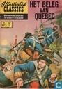 Bandes dessinées - Beleg van Quebec, Het - Het beleg van Quebec