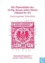 Die Plattenfehler der 10 Pfg.-Krone/Adler-Marke (Michel-Nr. 47) Ergänzungsband: Nebenfehler