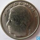 Coins - Belgium - Belgium 1 franc 1991 (FRA)