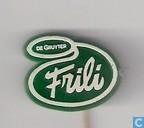 Frili De Gruyter [wit op groen]