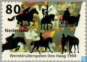 Postage Stamps - Netherlands [NLD] - World Equestrian Games