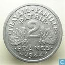 Frankrijk 2 francs 1944 (B)