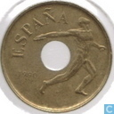 "Spain 25 pesetas 1990 ""Discus thrower"""