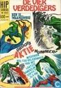 Comics - Fantastischen Vier, Die - Ben is waanzinnig