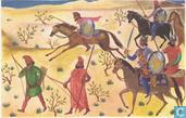 Voetvolk en ruiterij bij de Perzen