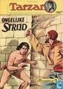 Strips - Tarzan - Ongelijke strijd