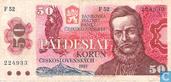 Tsjecho-Slowakije 50 Korun
