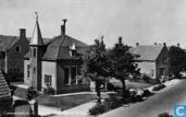 Gemeentehuis m. school, Valkenburg (Z.H.)