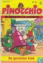 Bandes dessinées - Pinocchio - De gestolen klok