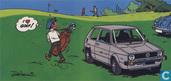 Ansichtkaart Volkswagen Golf
