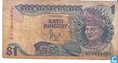 Malaysia 1 Ringgit ND (1986)