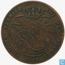 Belgium 5 centimes 1849