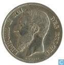 Monnaies - Belgique - Belgique 50 centimes 1899 français
