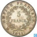 Frankrijk 5 francs 1811 (A)