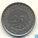 Suriname 25 Cent 1982