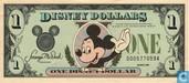 1 Disney Dollar 1988