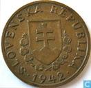 Slowakije 20 halierov 1942 (brons)