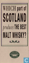 Which Part Of Scotland Produces The Best Malt Whisky?