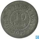 België 10 centimes 1917 (FR-VL)