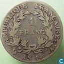 France 1 franc AN 14 (A)
