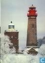 Kap Arkona Leuchttürme, Rügen, Deutschland