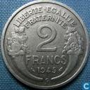 Frankrijk 2 francs 1945 (C)