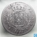 Frankrijk 5 francs 1814 (L)