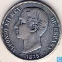 Spanien 5 Peseten 1875
