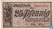 Nordhausen 25 Pfennig