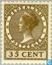 Timbres-poste - Pays-Bas [NLD] - La reine Wilhelmina-Type « Veth »