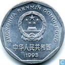 Chine 1 jiao 1993