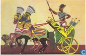 Ramses I op zijn oorlogswagen