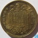 Espagne 1 peseta 1953 (1956)