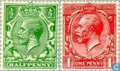 1913 George V Watermark multiples GvR (GRB 38)