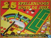 25 Spellendoos - Boite de Jeux