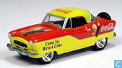 Voitures miniatures - Johnny Lightning - Nash Metropolitan 'Coca-Cola'