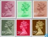 Queen Elizabeth II-Machin Decimal