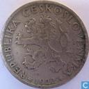 Tchécoslovaquie 1 koruna 1922
