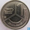 Coins - Belgium - Belgium 1 franc 1990 (NLD)