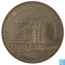 "Belgium 50 francs 1935 (FR) ""Brussels Exposition and Railway Centennial"""