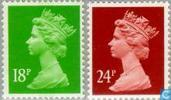 Queen Elizabeth-Decimal Machin