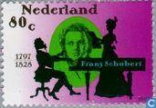 Postage Stamps - Netherlands [NLD] - Franz Schubert