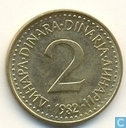 Joegoslavië 2 dinara 1982