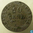 France 10 centimes 1808 (BB)