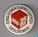 Deelnemer Jubileumbouwwedstrijd Lego 25 jaar