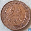 South Africa ¼ penny 1943